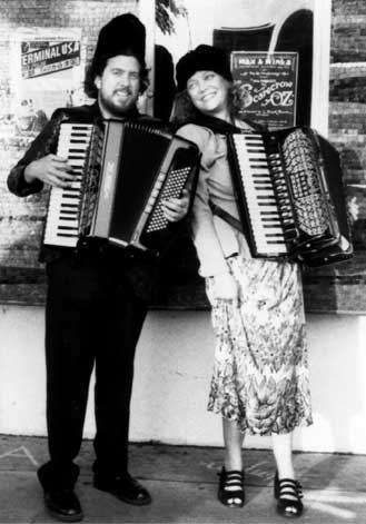 Max and Minka, International Spy Accordion Duo